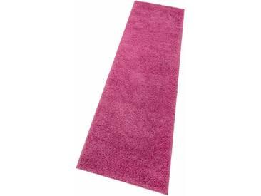 My Home Hochflorteppich »Bodrum«, 67x230 cm, 30 mm Gesamthöhe, rosa