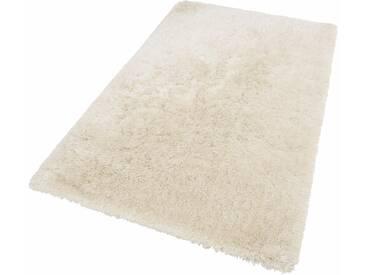 Theko® Hochflor-Teppich »Flokato«, 190x290 cm, fussbodenheizungsgeeignet, 60 mm Gesamthöhe, beige