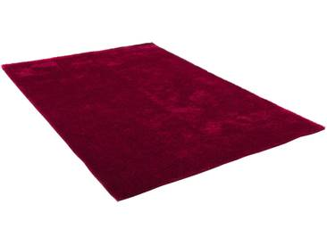 Theko® Hochflor-Teppich »Alessandro«, 80x150 cm, 25 mm Gesamthöhe, rot