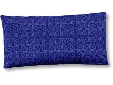 Hip Kissenbezug »Grande«, 1x 80x40 cm, blau, aus reiner Baumwolle