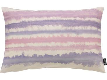 Emotion Textiles Kissenbezug »Aquarellstreifen«, lila