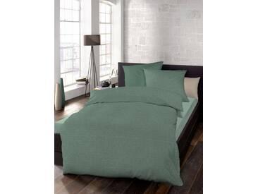 Schlafgut Bettwäsche »Select«, 135x200 cm, waschbar, grün, aus 100% Baumwolle