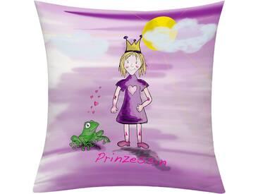 Emotion Textiles Kissenhülle »Prinzessin Tag«, rosa