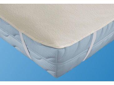 Setex Matratzen Und Kissen Matratzen Auflagen »Molton Spann«, 2x 100x200 cm, waschbar, weiß