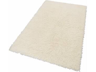 Theko Exklusiv Hochflor-Teppich »Flokos 1«, 60x90 cm, 40 mm Gesamthöhe, beige