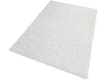 Theko® Hochflor-Teppich »Linyi«, 110x170 cm, 40 mm Gesamthöhe, weiß