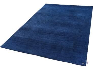 Tom Tailor Teppich »Powder uni«, 160x230 cm, 12 mm Gesamthöhe, blau