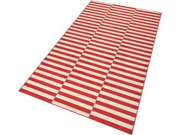 Hanse Home Teppich »Panel«, 160x230 cm, 9 mm Gesamthöhe, rot