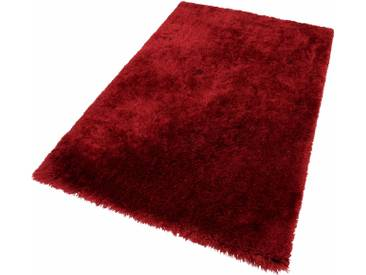 Theko® Hochflor-Teppich »Flokato«, 120x180 cm, fussbodenheizungsgeeignet, 60 mm Gesamthöhe, rot