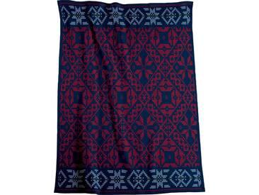 Biederlack Wohndecke »Folklore«, 150x200 cm, blau