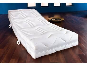 F.a.n. Frankenstolz Taschenfederkernmatratze »GUT (2,3)«, 1x 120x200 cm, weiß, 101-120 kg