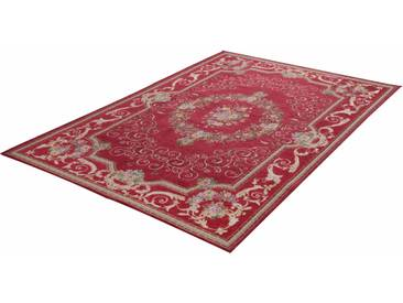 Theko® Teppich »Flomi Florentina«, 60x90 cm, 5 mm Gesamthöhe, rot