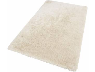 Theko® Hochflor-Teppich »Flokato«, 70x140 cm, fussbodenheizungsgeeignet, 60 mm Gesamthöhe, beige
