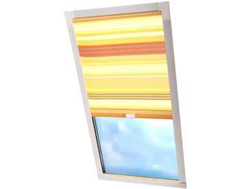 Liedeco Dachfensterrollo »Dekor«, H/B 130/96 cm, gelb