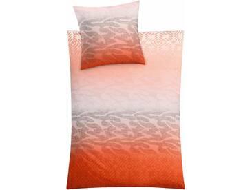 Kleine Wolke Bettwäsche »Spirit«, 155x220 cm, orange