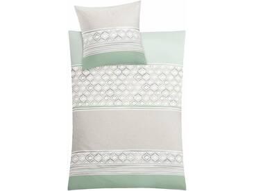 Kleine Wolke Bettwäsche  »Sueno«, 135x200 cm, grün