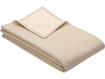 Ibena Wohndecke »Cotton Pur«, 140x200 cm, aus 100% Baumwolle, beige