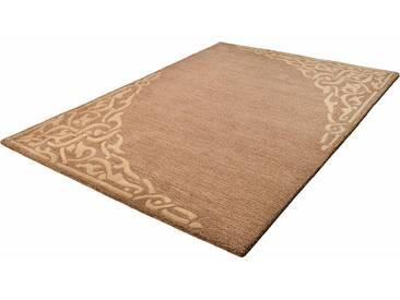 Theko® Teppich »Aloha 8101«, 160x230 cm, 10 mm Gesamthöhe, braun