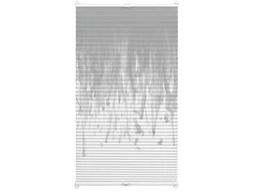 Gardinia Plissee »Easyfix Swedish Moments Rainfall«, H/B 130/70 cm, einfache Montage ohne Bohren, grau