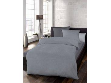 Schlafgut Bettwäsche »Select«, 1x 240x220 cm, waschbar, grau, aus 100% Baumwolle