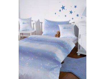 Curt Bauer Babybettwäsche  »Kleiner Stern«, 40x60 cm, pflegeleicht, blau