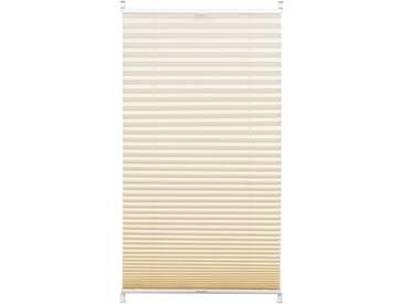 Gardinia Plissee »Easyfix Plissee«, H/B 130/80 cm, pflegeleicht, beige