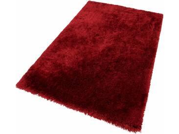 Theko® Hochflorteppich »Flokato«, 160x230 cm, fussbodenheizungsgeeignet, 60 mm Gesamthöhe, rot