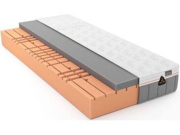 Schlaraffia Gelschaummatratze »GELTEX® Quantum Touch 260«, 1x 200x200 cm, weiß, 0-80 kg