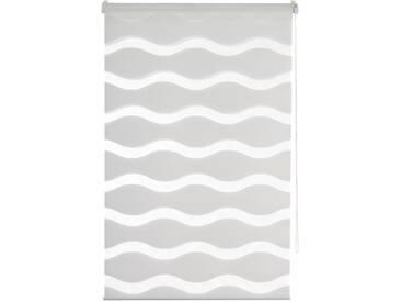 K-home Doppelrollo  »MASSA«, H/B 200/90 cm, effektiver Sicht- und Sonnenschutz, weiß