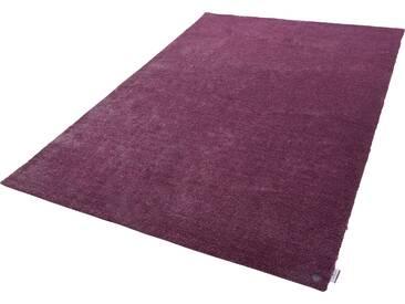 Tom Tailor Teppich »Powder uni«, 190x290 cm, 12 mm Gesamthöhe, lila