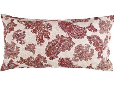 Zucchi Kissenbezug »Corso Como«, 1x 80x40 cm, aus reiner Baumwolle, rot