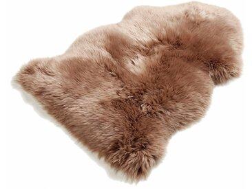 Böing Carpet Fellteppich  »Schaffell LF«, 60x90 cm, 70 mm Gesamthöhe, braun