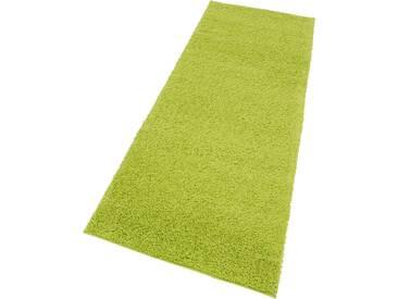 My Home Hochflorteppich »Bodrum«, 67x230 cm, 30 mm Gesamthöhe, grün