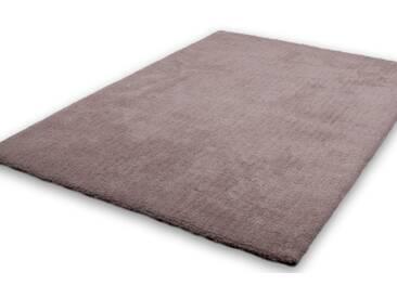 Lalee Hochflor-Teppich »Velvet«, 160x230 cm, beige