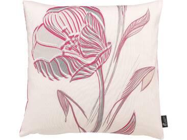Emotion Textiles Kissenhülle »Strichblume«, rosa