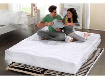My Home Komfortschaummatratze »Übergrößen«, 160x200 cm, ideal für Allergiker, weiß, 101-120 kg
