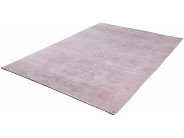 Tom Tailor Teppich »Powder uni«, 140x200 cm, 12 mm Gesamthöhe, rosa
