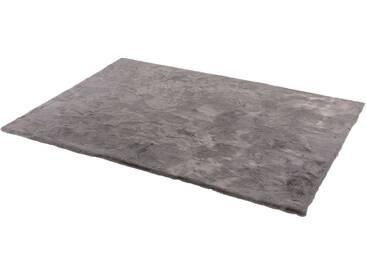 Schöner Wohnen-kollektion Teppich »Tender«, 130x190 cm, 26 mm Gesamthöhe, grau