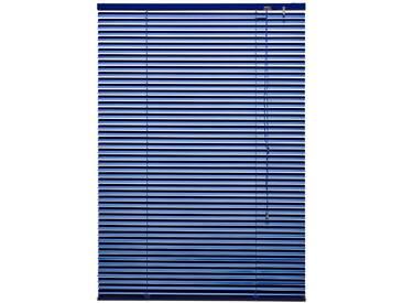 Liedeco Rollo »Jalousie aus Aluminium«, H/B 160/150 cm, blau