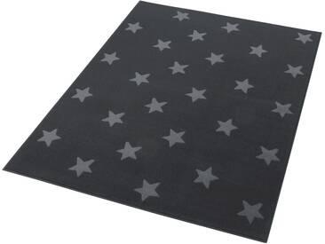 Hanse Home Teppich »Stars«, 140x200 cm, 9 mm Gesamthöhe, grau