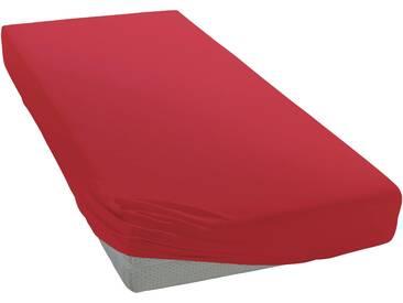 Pinolino® Spannbetttuch »Linus«, 2x70/140 cm, waschbar, rot