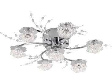 Leuchtendirekt Deckenleuchte »KARIMU«, silber