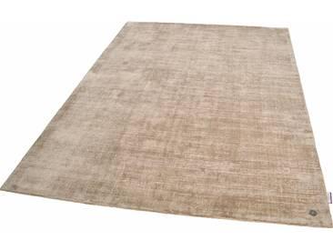 Tom Tailor Teppich »Shine uni«, 160x230 cm, 8 mm Gesamthöhe, braun