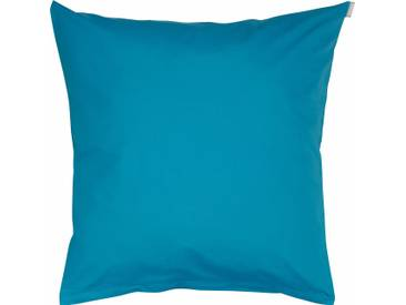 Bassetti Kissenhülle »Tinta Uni«, 40x40 cm, aus 100% Baumwolle, blau