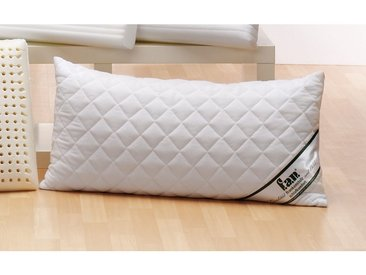 F.a.n. Frankenstolz Nackenstützkissen »Sleep Care Latex Soft«, Bezug abnehmbar, bis 95 °C waschbar, weiß