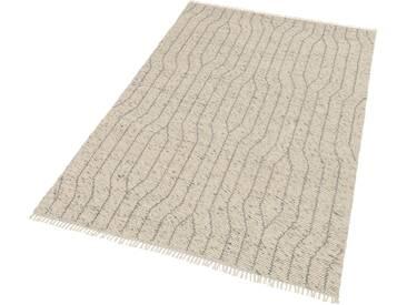 Schöner Wohnen-kollektion Teppich »Sense 181«, 200x300 cm, 15 mm Gesamthöhe, silber
