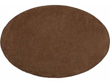 Hanse Home Teppich »Shashi«, 10 (Ø 200 cm), 8,5 mm Gesamthöhe, braun