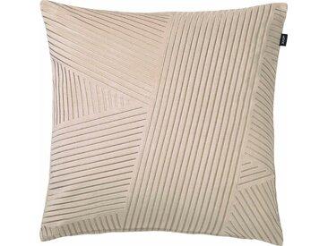 Joop! Kissenbezug »Crossed«, 45x45 cm, beige