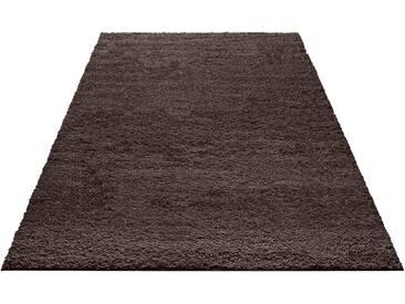 My Home Hochflor-Teppich »Bodrum«, 200x290 cm, 30 mm Gesamthöhe, grau