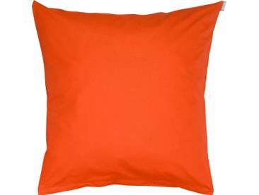 Bassetti Kissenhülle »Tinta Uni«, 40x80, aus 100% Baumwolle, orange